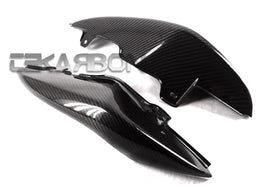 2011 - 2014 Triumph Speed Triple Carbon Fiber Tail Side Fairings