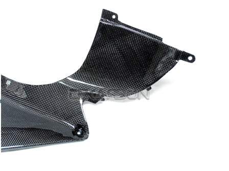 2007 - 2008 Yamaha YZF R1 Carbon Fiber Air Intake Cover