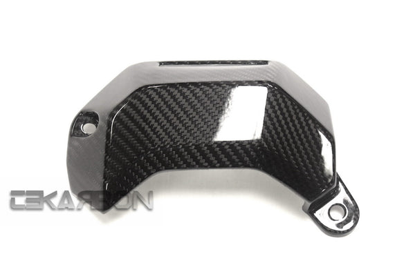 2013 - 2016 Yamaha FZ07 MT07 Carbon Fiber Water Cooler Cover