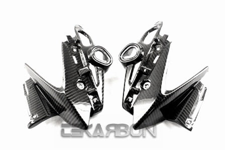 2011 - 2013 Yamaha FZ8 Carbon Fiber Headlight Side Fairings