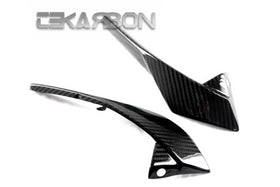 2011 - 2013 Yamaha FZ8 Carbon Fiber Headlight Side Panels