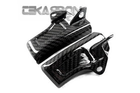2011 - 2013 Yamaha FZ8 Carbon Fiber Radiator Top Covers