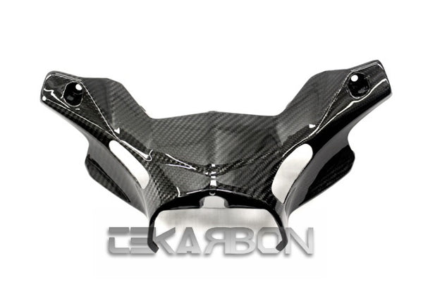 2012 - 2015 Yamaha Tmax 530 Carbon Fiber Lower Handle Bar Cover