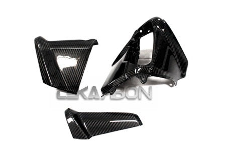 2012 - 2015 Yamaha Tmax 530 Carbon Fiber Dash Panel Cover 3pc