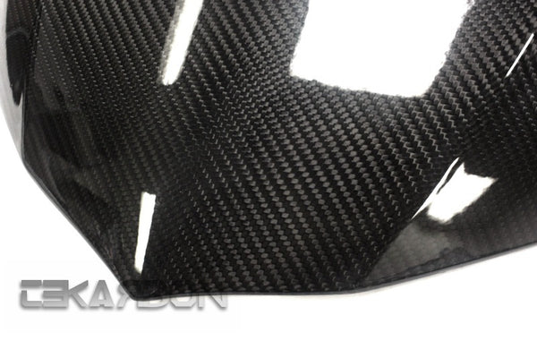 2015 - 2019 Yamaha YZF R1 Carbon Fiber Front Fairing (Twill)