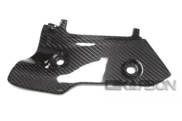 2015 - 2019 Yamaha YZF R1 Carbon Fiber Heat Shield LH (Twill)
