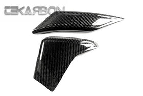 2006 - 2016 Yamaha YZF R6 Carbon Fiber Swingarm Guard Covers (Twill)