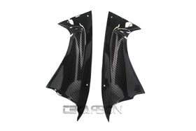 2008 - 2016 Yamaha YZF R6 Carbon Fiber Front Side Panels