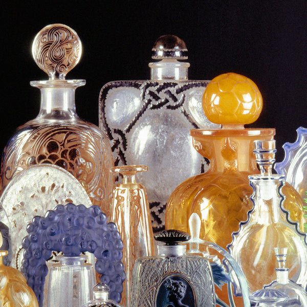 Lalique and Coty Perfume Bottles