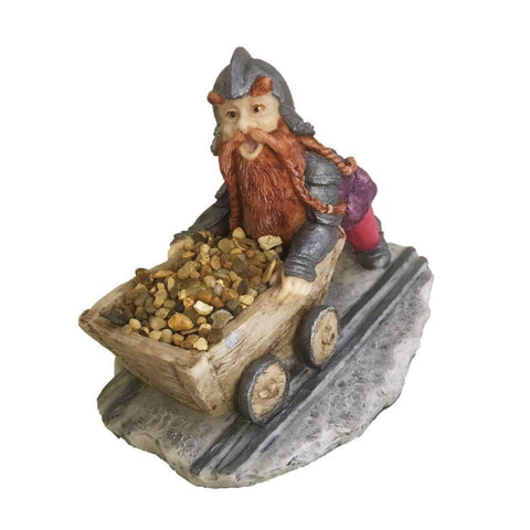 Hepna - Dwarf Pushes Truck - Enchantica
