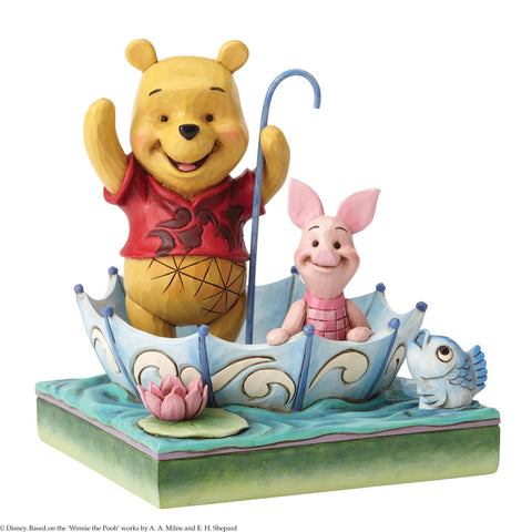 50 Years of Friendship (Winnie the Pooh and Piglet Figurine)