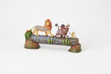 Carefree Camaraderie (Simba, Timon and Pumbaa Figurine)