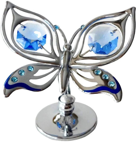 Orchid Butterfly - Blue