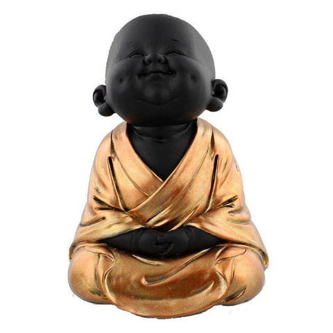 Meditating Buddha Rose Gold