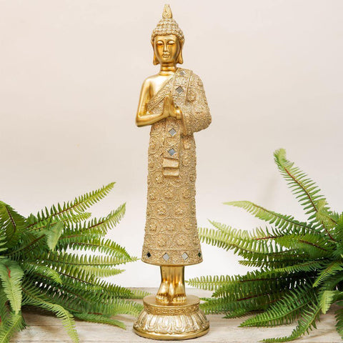 Bronze Effect - Gold Thai Buddha