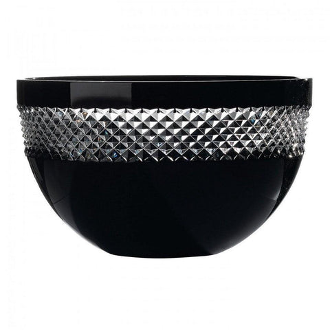 John Rocha Black Cut Bowl 10""