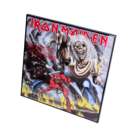 IronMaiden-Number of the Beast Crystal Clear