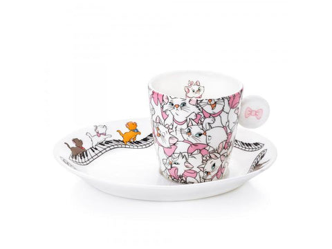 Aristocrats Espresso Cup and Saucer