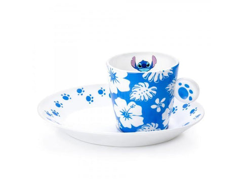 Lilo & Stitch Espresso Cup and Saucer