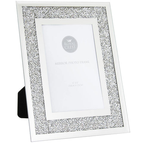 4x6 Multicrystal Photo Frame