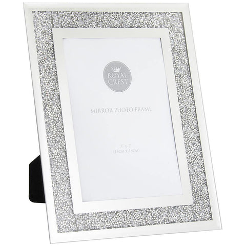 5x7 Multicrystal Photo Frame