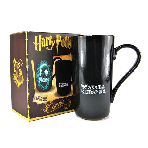 Heat Changing Latte Mug - Harry Potter Voldemort