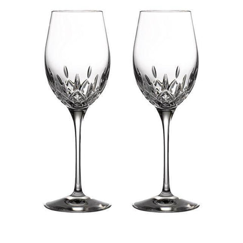 Lismore Essence White Wine Glass Pair