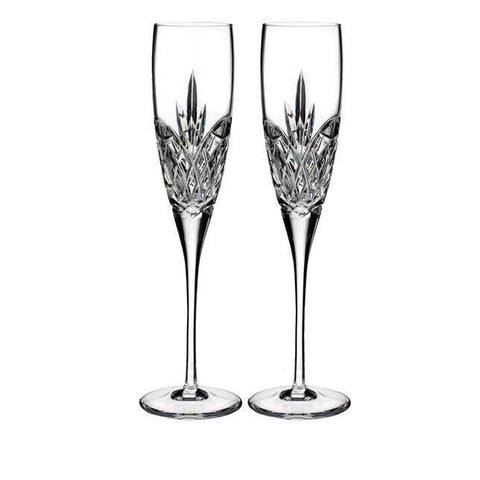 Waterford Love Forever Champagne Flute, Set of 2