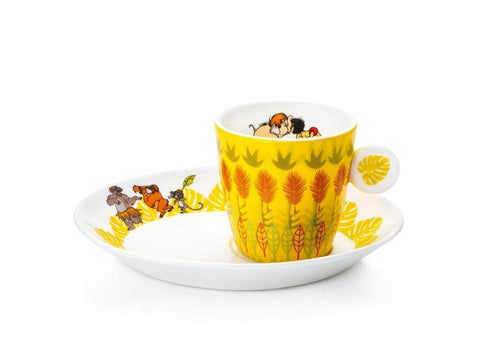 The Jungle Book Espresso Cup and Saucer