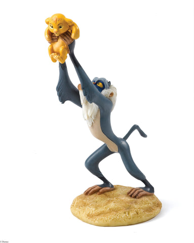 A King is Born (Rafiki and Simba Figurine)