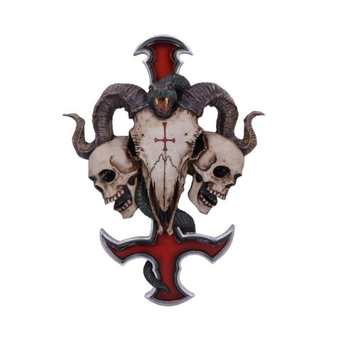 Devils Cross Wall Plaque