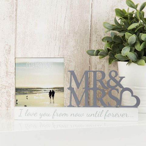 4x4 Mr & Mrs Photo Frame