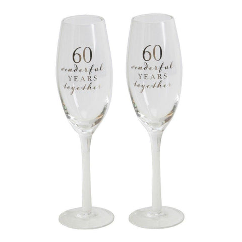60th Anniversary Flutes