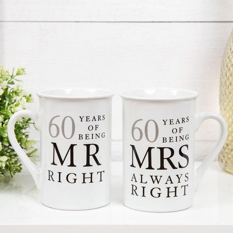60 Years Mr Right and Mrs Always Right - Amore