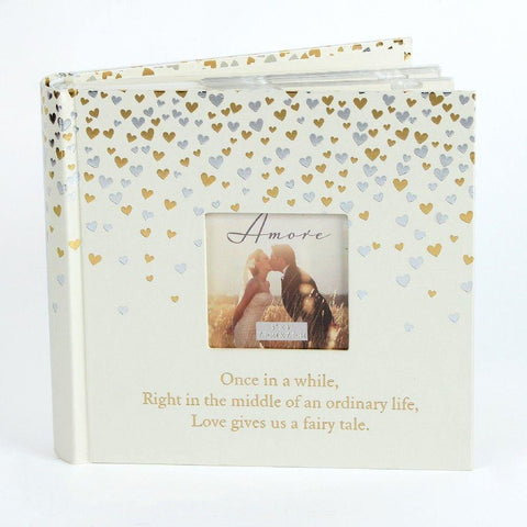 4x6 Little Hearts 80 Page Photo Album - Amore