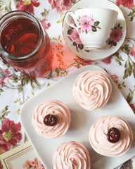 Togri bakery cherry cupcakes