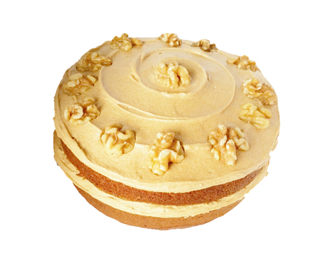 Togri Bakery Coffee Cake with Walnut Halves