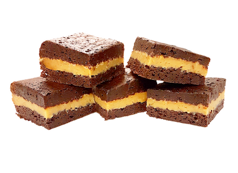 Caramel Brownie Sandwich