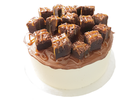 Caramel Brownie Freak Cake Birmingham Birthday Free Delivery Togri Bakery