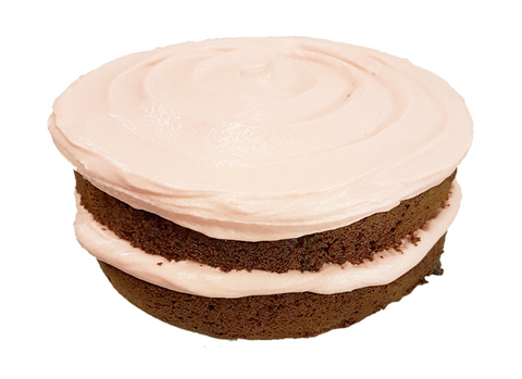 Chocolate & Strawberry Buttercream Sponge
