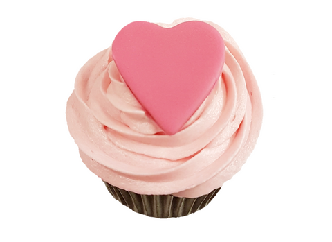 Pink Vanilla Love Heart