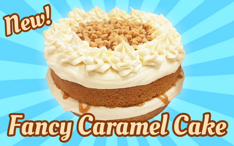 Fancy Caramel Cake