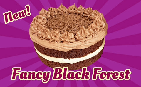 Fancy Black Forest Cake