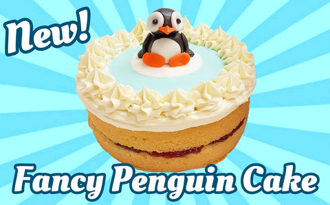 Fancy Penguin Cake