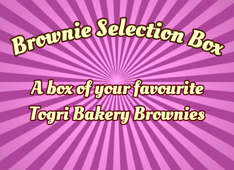 Brownie Selection Box By Post