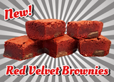 Red Velvet Brownies By Post