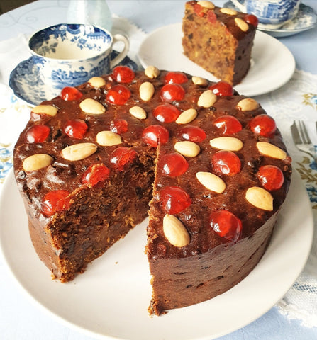 Bejewelled Fruit Cake By Post