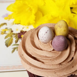 Chocolate and Vanilla Easter Egg Cupcakes