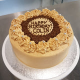Coffee Buttercream Layer Cake