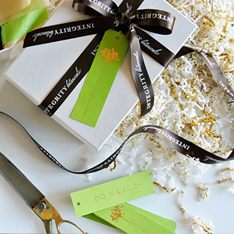 Integrity Botanicals Gift Wrap